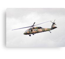 Formidable Blackhawk  Canvas Print