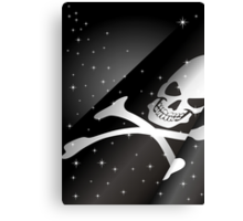 Sparkling Pirate Flag Canvas Print