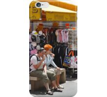 THE TASTE AND COLOR OF AJACCIO CORSICA iPhone Case/Skin