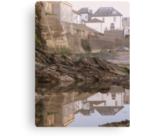 Cornwall: Port Isaac Reflections Canvas Print
