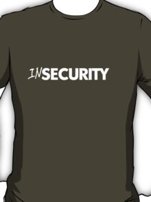 In security T-Shirt