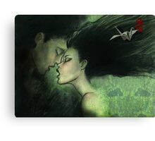 i'll give you the most delicious kiss... Canvas Print