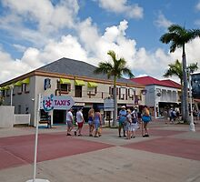 Shopping in St Maarten by Keith Larby