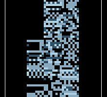 Pokemon Missingno. Blue Version by StephAnima