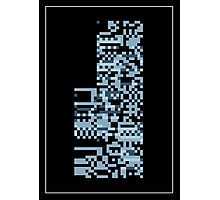 Pokemon Missingno. Blue Version Photographic Print