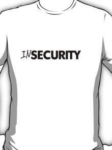 In security - black T-Shirt