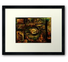 Cabinet of Curiosities Framed Print
