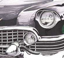1954 Cadillac  Sticker
