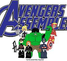 Avengers Assemble? by gustafa