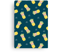Pineapple Party V2 Canvas Print