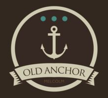 Game Of Thrones - 'Old Anchor' vintage badge by housegrafton