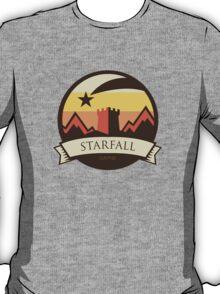 Game Of Thrones - 'Starfall' vintage badge T-Shirt