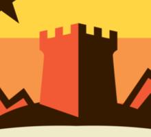 Game Of Thrones - 'Starfall' vintage badge Sticker