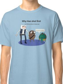 Han shot first... Classic T-Shirt