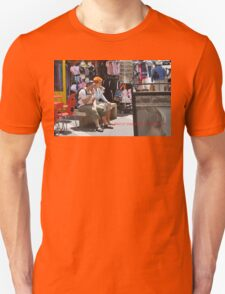 THE TASTE AND COLOR OF AJACCIO CORSICA (CARD) T-Shirt