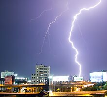 Lightning Strike by EyeZFoTo