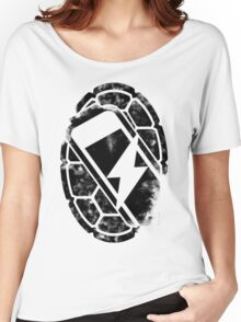 Turtle Power (black) Women's Relaxed Fit T-Shirt