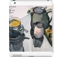 the monochrome breakfast iPad Case/Skin