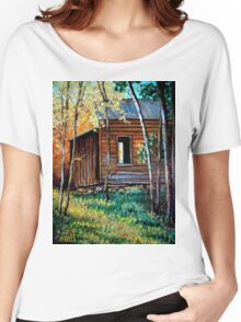 """""""The Old Bunkhouse"""" Women's Relaxed Fit T-Shirt"""