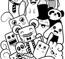 Doodle Kawaii by alwaidd