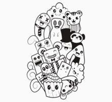 Doodle Kawaii Kids Tee
