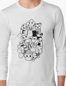 Doodle Kawaii Long Sleeve T-Shirt