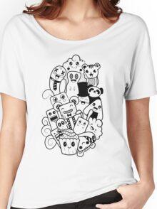 Doodle Kawaii Women's Relaxed Fit T-Shirt