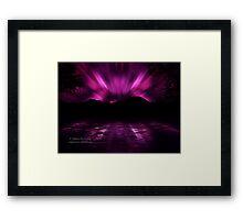 Cosmic Mystery Framed Print