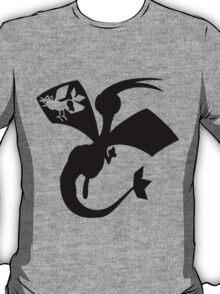 Flygon Silhouette  T-Shirt