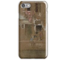 James McNeill Whistler, Note in Pink and Brown 1880 iPhone Case/Skin