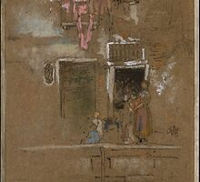 James McNeill Whistler, Note in Pink and Brown 1880 by Adam Asar