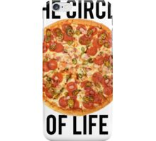 The Circle Of Life Pizza iPhone Case/Skin