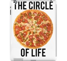 The Circle Of Life Pizza iPad Case/Skin