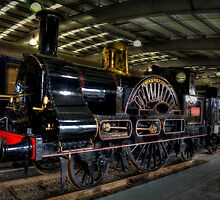 LNWR 2-2-2 No3020 Cornwall by Andrew Pounder