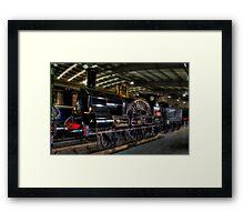 LNWR 2-2-2 No3020 Cornwall Framed Print