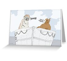 The Life of Pi + Alf Greeting Card