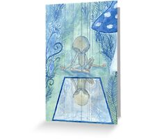 marionette Greeting Card