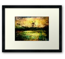 Turning Windmill Framed Print