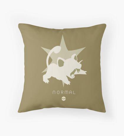 Pokemon Type - Normal Throw Pillow