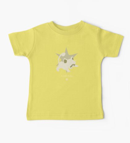 Pokemon Type - Normal Baby Tee