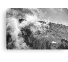 An Afternoon On Penken #10 (Facing The Clouds) Canvas Print