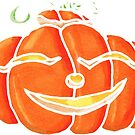 Happy Pumpkin by Amy-Elyse Neer