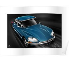 Citroen DS Poster Art Poster