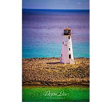 Bahamas Lighthouse Photographic Print