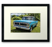 Classic Old Ford Pickup Truck Framed Print