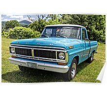 Classic Old Ford Pickup Truck Poster