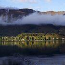 Lake Wanaka Sunrise Panorama by Will Hore-Lacy