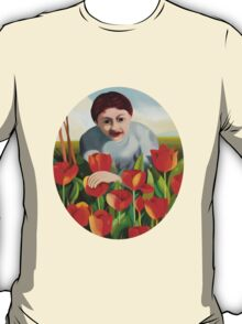 my mother among the tulips T-Shirt