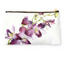 Radiant Orchids: Magenta Dendrobiums Studio Pouch