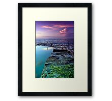 Bogey Hole Sunrise Framed Print